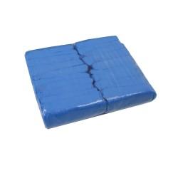 Foil shoes protector blue - (100 pieces)