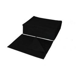 Ręcznik z włókniny perforowanej 70x50 CZARNY- (100szt)