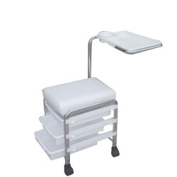 "Salon seat for pedicure & manicure ""CH-5005"" (White)"