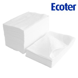 ECOTER  Perforated nonwoven pedicure towel - Extra (50 pc.)