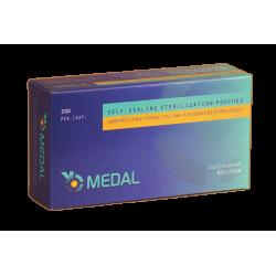 Torebki foliowo-papierowe do sterylizacji 90 mm x 135mm - 200 szt.