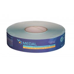 Foil and paper sleeve for sterilization 55mm x 200m