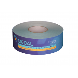 Foil and paper sleeve for sterilization 75mm x 200m