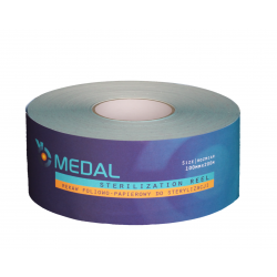 Foil and paper sleeve for sterilization 100mm x 200m