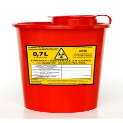 Medical waste container - (500ml - 800ml)