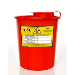Medical waste container - (2000ml)