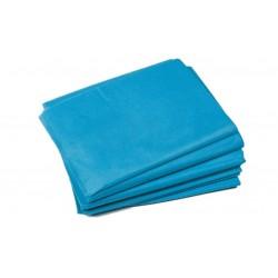 Non-woven bed sheet BLUE 200x100 - (10 pieces)