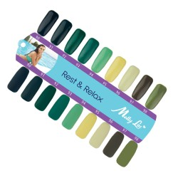 MOLLY LAC SAMPLE - REST AND RELAX - GLOSS AND MAT - 9 COLORS