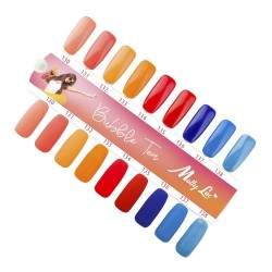 MOLLY LAC SAMPLE - BUBBLE TEA - GLOSS AND MAT - 9 COLORS