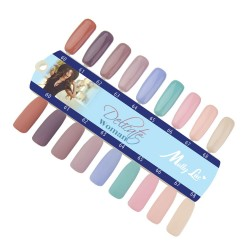 MOLLY LAC SAMPLE - DELICATE WOMAN - GLOSS AND MAT - 9 COLORS