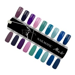 MOLLY LAC SAMPLE - NAILMATIC - GLOSS AND MAT - 9 COLORS
