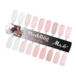 MOLLY LAC - WEDDING - YES, I DO - KOMPLET WZORNIKÓW - 9SZT.