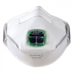 Filtering half mask FFP1V JSP TYPHOON 315 - (1pc)