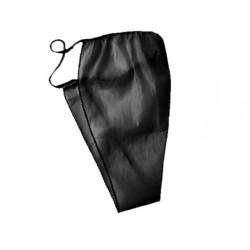 Stringi jednorazowe damskie czarne - (10szt)