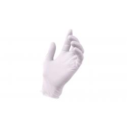 Rękawice lateksowe bezpudrowe M