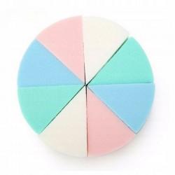 Gąbki do podkładu kolorowe trójkąty (8szt.)