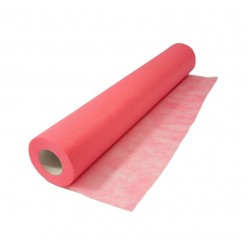 Cosmetic bed sheet – nonwoven on roll PINK 60cm/50m