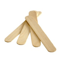 Wooden tongue depressor - LARGE - (100 pieces)
