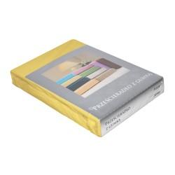 Prześcieradło FROTTE 70x190 Żółte - (1szt)