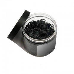 Rubber gum black (500 pieces)