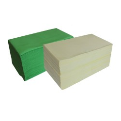 Hairdresser towel celulose 70x40 COLOR - (100 pcs)