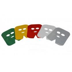 Maski zabiegowe foliowe - (100szt)