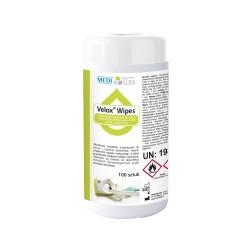 VELOX WIPES 100 pcs. in plastic tube