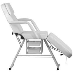 Fotel kosmetyczny 8216 z uchwytem na podkład