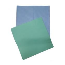 Dywaniki prostokątne kolor niebieski / zielony - (100szt)